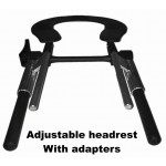 Head rest Adjustable with Adapters